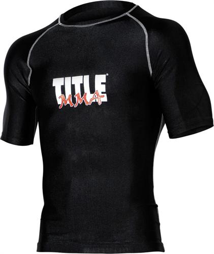Title Title Mma Rash Guards Short Sleeve